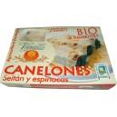 BIO CANELONES DE SEITAN Y ESPINACAS CCPAE 500 g