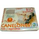 BIO CANELONES DE TOFU Y ESPINACAS CCPAE 500 g